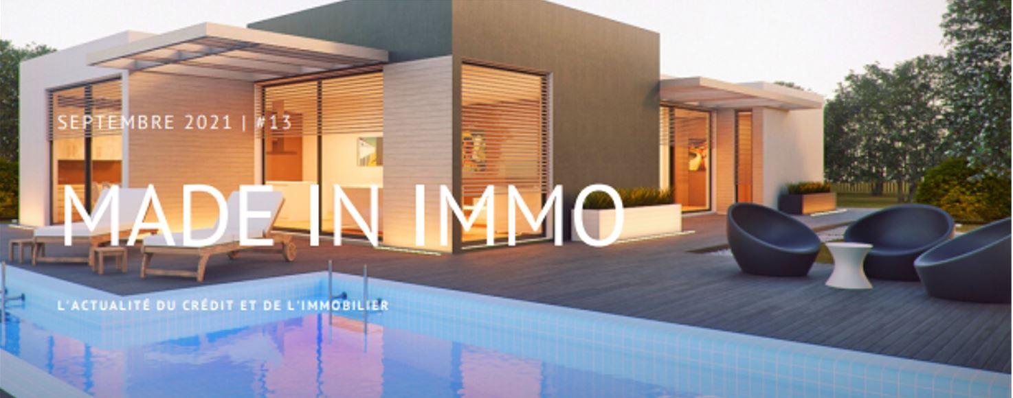 Easytaux newsletter Immobilier septembre 2021